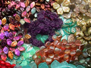 group shot of beads